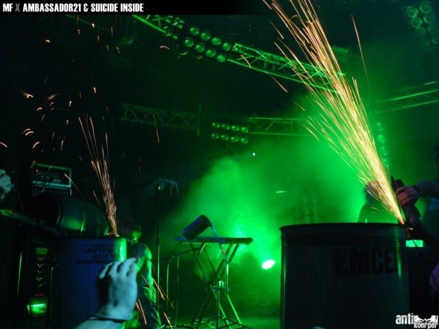 SUICIDE INSIDE @ Maschinenfest 2k8, Krefeld / DE